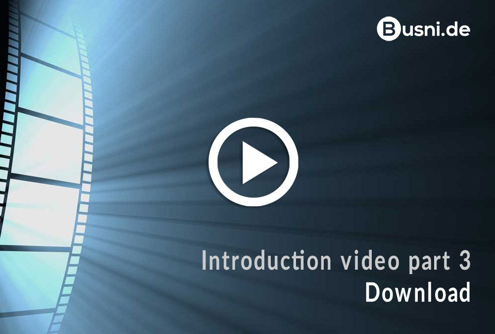 Introduction video part 3 – Download